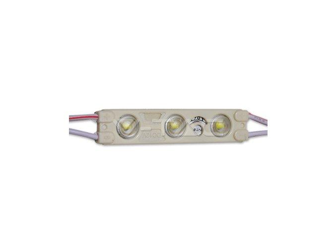 16409 1 led modul smd2835 3led 6000k ip65 modry
