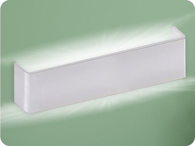 20W LED nástěnné svítidlo (2000lm), bílé, IP44