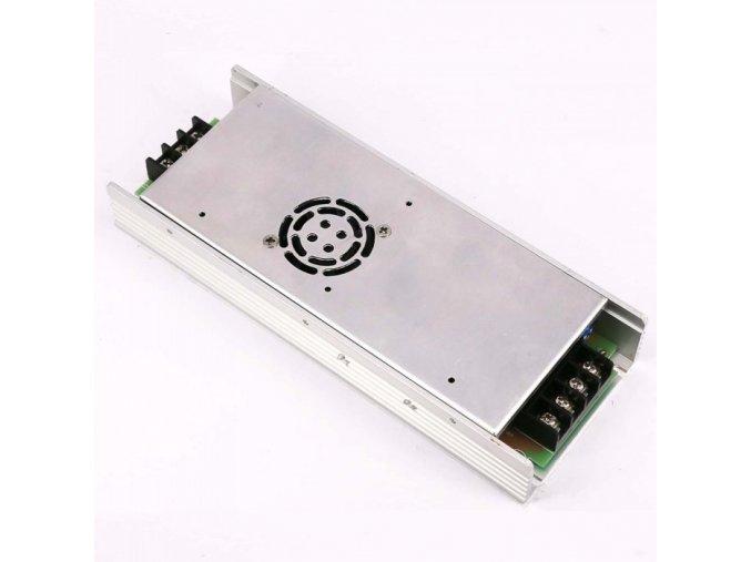 17375 kovovy napajeci adapter pro led pasky 350w 15a dc 24v ip20