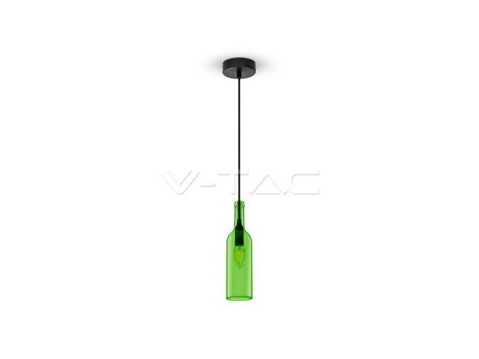 1820 2 zavesne svitidlo svetle zelena 72 mm