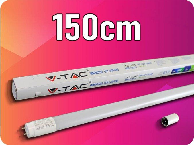 Led Trubice T8, 22W, 150Cm, G13, Nano Plast, (2000lm) (Barva světla Studená bílá)