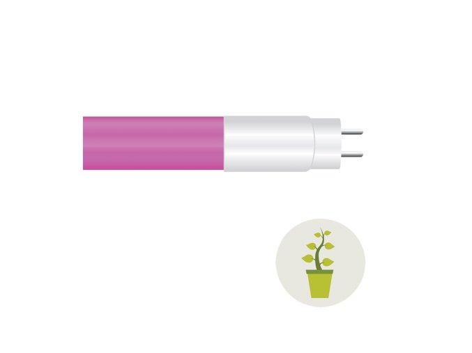 1844 1 led trubice t8 na osvetleni rostoucich rostlin 18w 120 cm g13 sklo plast