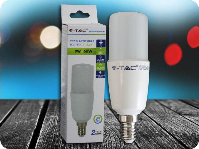 E14 Led Žárovka 9W (Barva světla Studená bílá)