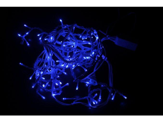 1949 1 vanocni led svetylka 100 modrych diod 6w 8 programu 230v ip44 rs 100b
