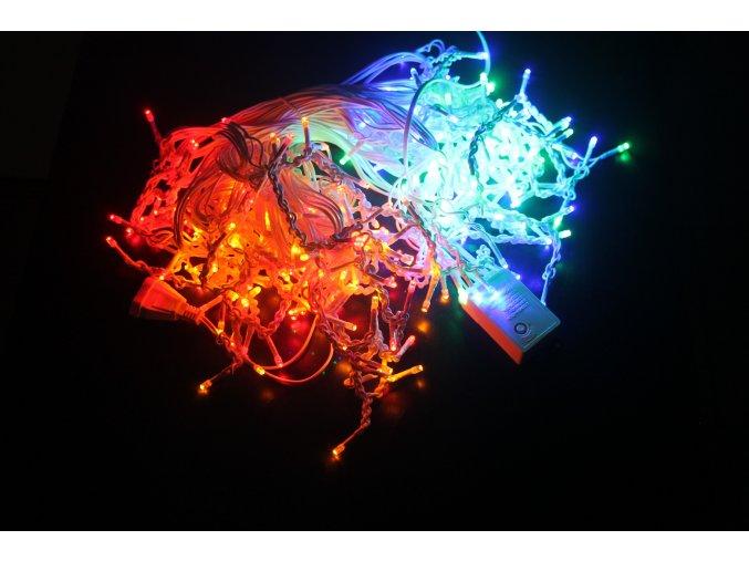 1961 1 vanocni led svetylka 300 barevnych diod 13w 8 programu 230v ip44 rs 300m