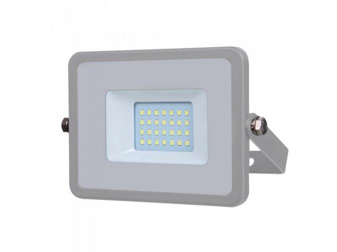 20W LED reflektor (1600lm), čip SAMSUNG, šedý (Barva světla Studená bílá 6400K)