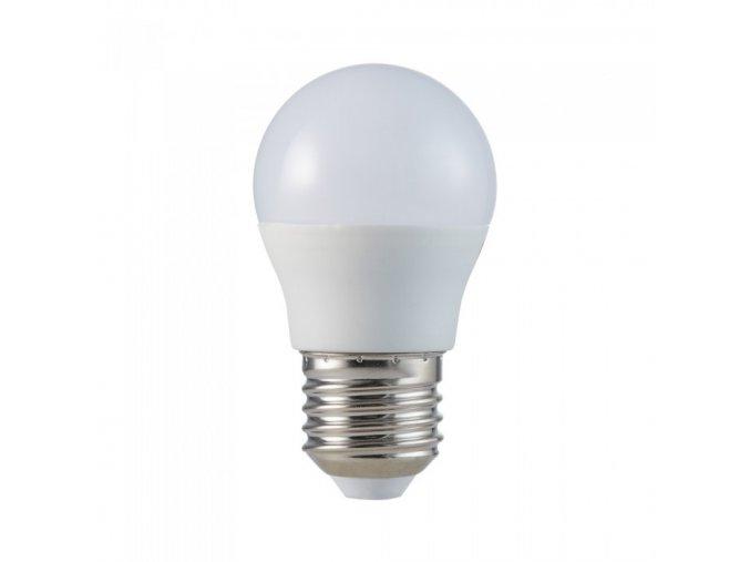 E27 LED žárovka 5,5W, G45, CRI> 95 (Barva světla Studená bílá 6400K)