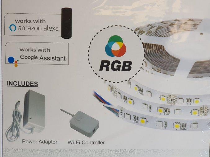 20561 3 led pas do interieru 10w rgb 60 led wifi kompatibilni s amazon alexa google home