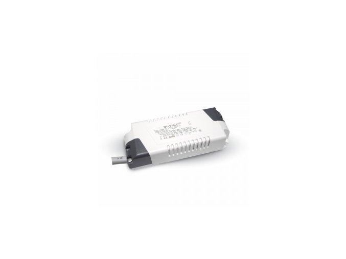 2072 1 adapter stmivatelny 6w pro led panely v tac vt 607 rd vt 607 sq