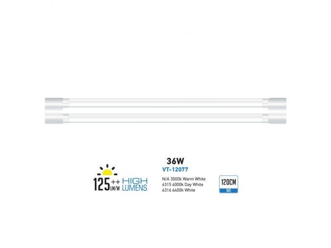 Led Svítidlo Shoplite 120Cm (Farba svetla Studená biela)