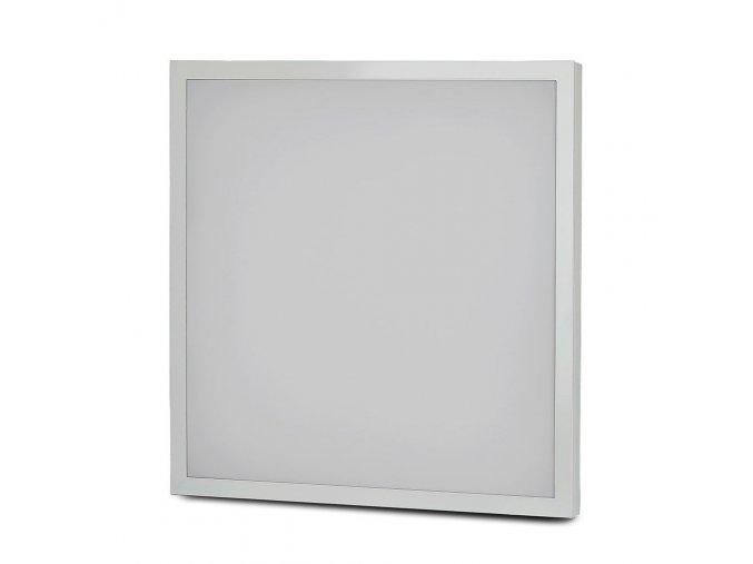 LED PŘISAZENÝ PANEL s napájecím zdrojem 40W (3200lm), ČTVERCOVÝ, 595x595mm