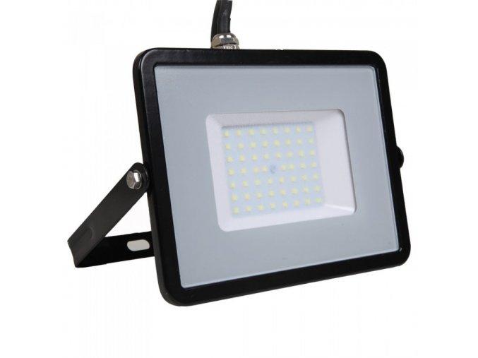 22313 1 led reflektor 50w 4000lm samsung chip cerny 6400k