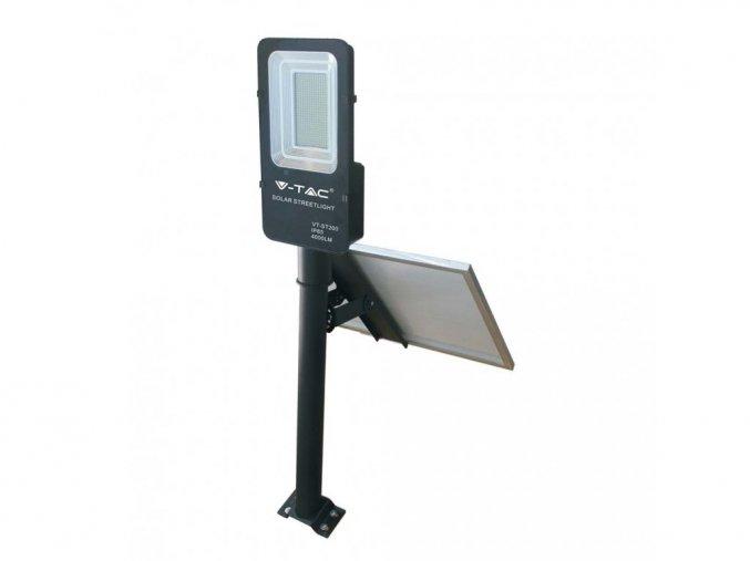LED solární pouliční svítidlo 50W (4000Lm), IP65