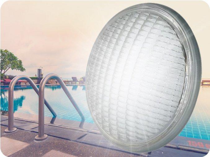 LED bazénová žárovka 8W (800lm), PAR56, 12V, IP68