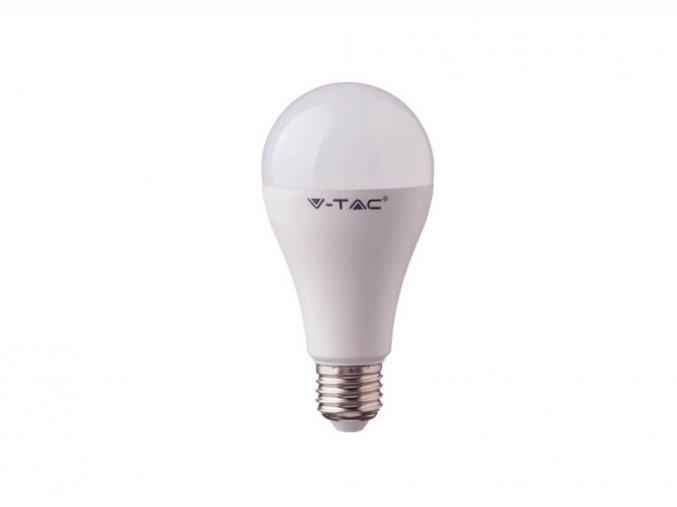 LED žárovka, E27, 17W (1521lm), A65, CRI> 95 (Barva světla Studená bílá 6400K)