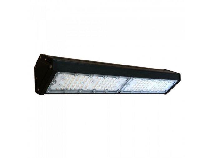 100W LED lineární Highbay, Samsung chip, 12 000lm (120lm/W), černý (Barva světla Studená bílá 6500K)