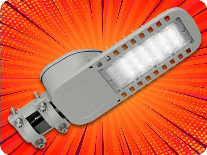 LED veřejné osvětlení 30W, 3600lm (120lm/W), Samsung chip