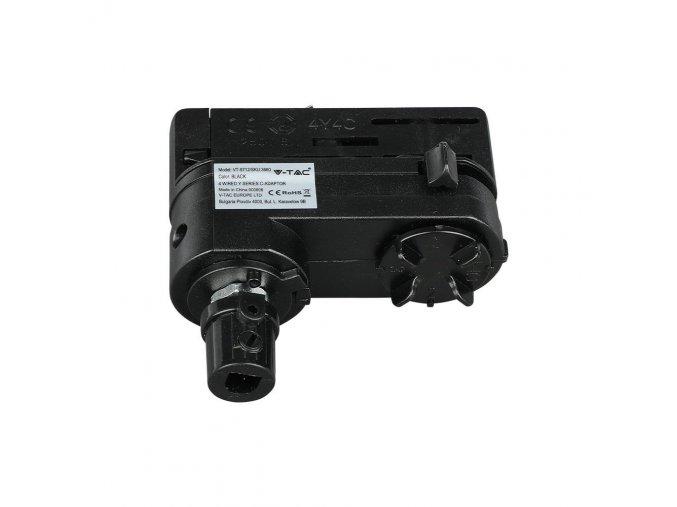 24179 1 adapter pro pripojeni zavesneho svitidla do kolejnicoveho systemu y series track 4line cerny