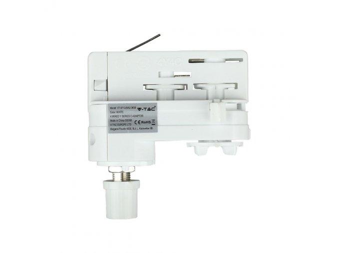 24185 1 adapter pro pripojeni zavesneho svitidla do kolejnicoveho systemu y series track 4line bily