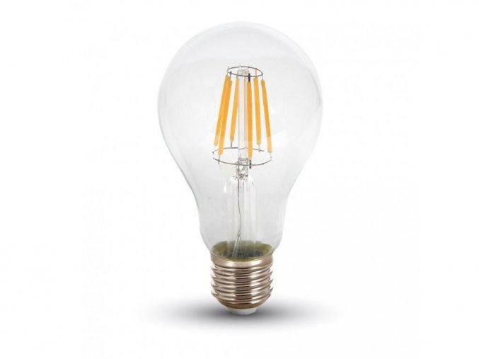 24191 3 retro led filament zarovka e27 8w 700lm a67 stmivatelna 2700k
