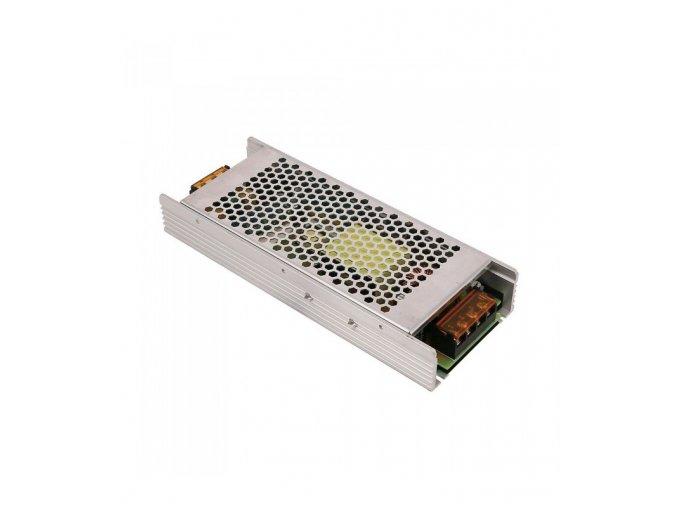 24260 4 250w led slim kovovy napajeci zdroj pro led pasy 24v 10a ip20