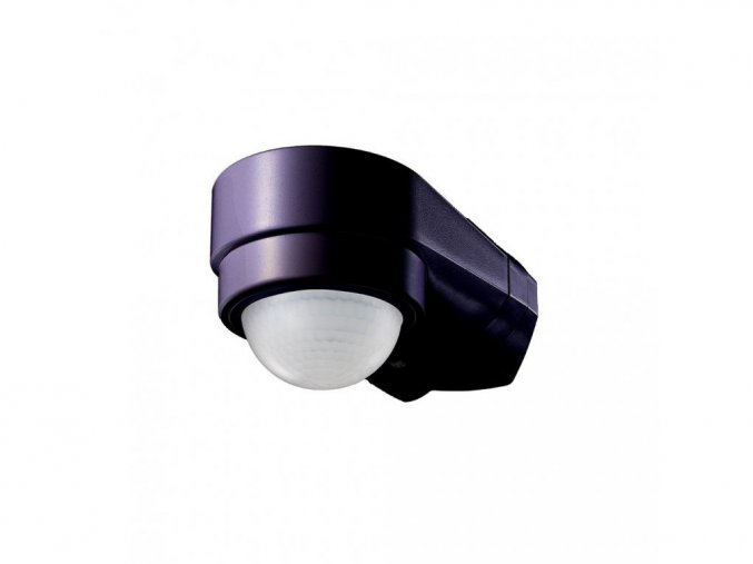 24284 1 pir senzor rohovy max 600w max 10m 240 ip65 cerny