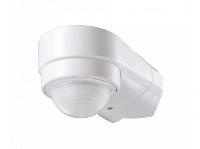 24497 pir senzor rohovy max 600w max 10m 240 ip65 bily