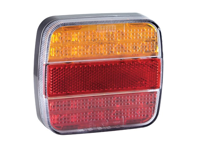 2460 zadni 20xled svetlo na kamion 12 24v leve prave