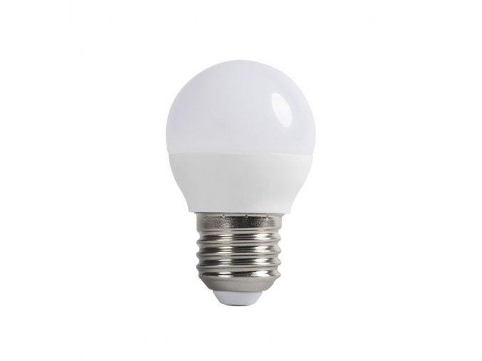 LED žárovka stmívatelná E27, 6W (480-520lm), G45