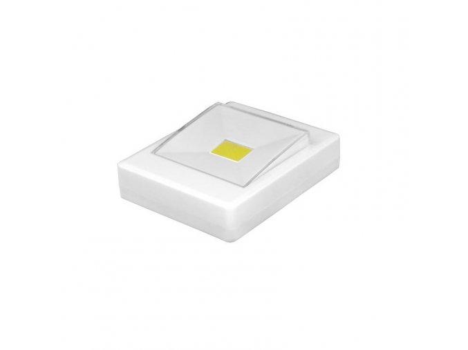 LED COB svítilna 1W (100lm), 3xAAA + magnet