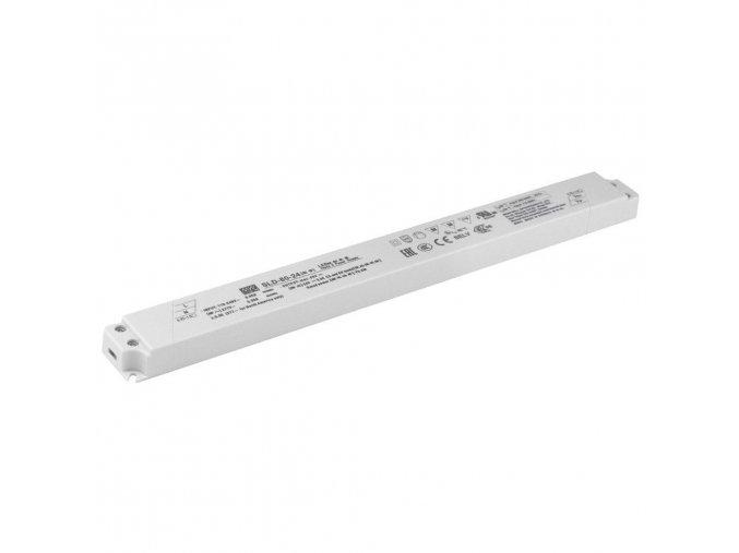 80W LED zdroj lineární, 24V, SLD-80-24 modul AC/DC