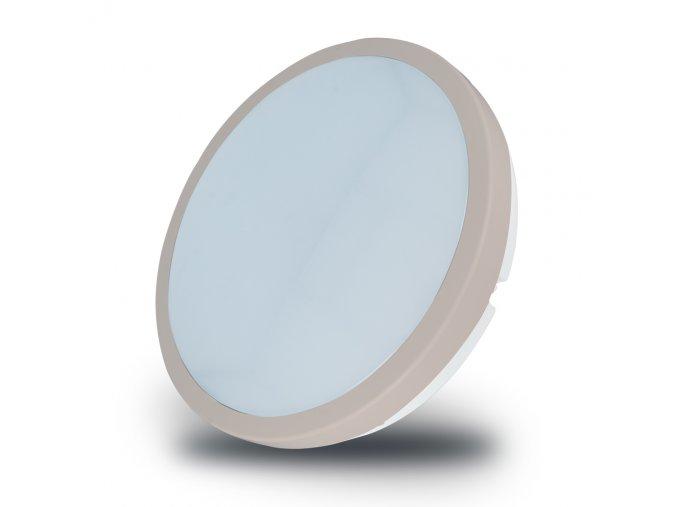 LED stropní svítidlo 18W (1440lm) s mikrovlnným senzorem, zlatý okraj, 4500K