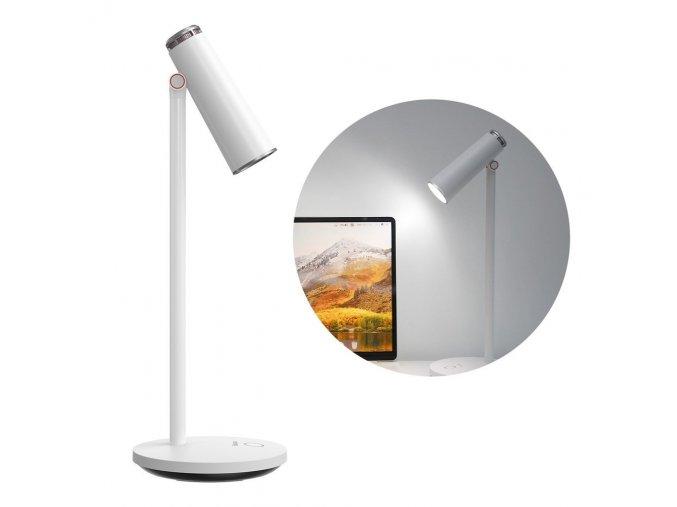 Baseus stolní lampa I-Wok dobíjecí, 3.5W, 1800mAh, 3000K-3700K-5000K