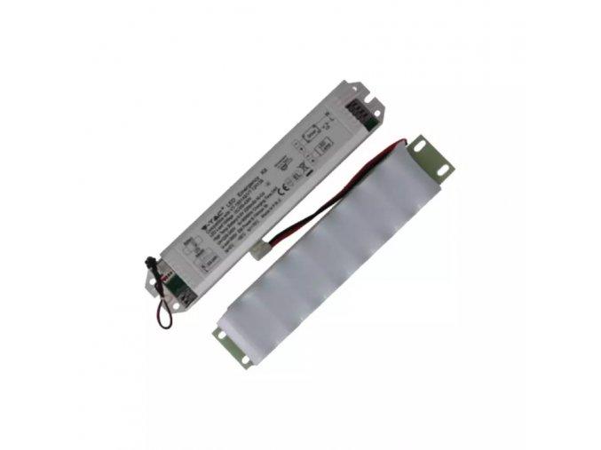 LED záložní baterie pro voděodolné antikorozní lampy, 54W
