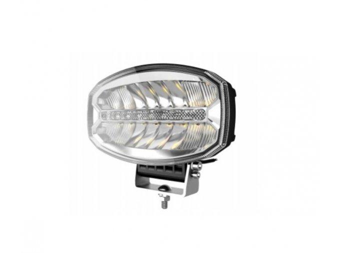 LED přední světlo s denním svícením (DRL), 80W/8W, 5800lm, 12/24V, 60cm kabel