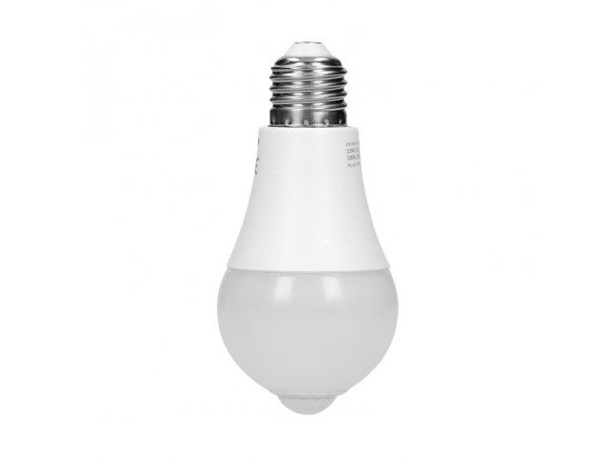 LED žárovka s PIR senzorem, 12W, 850LM, 4000K