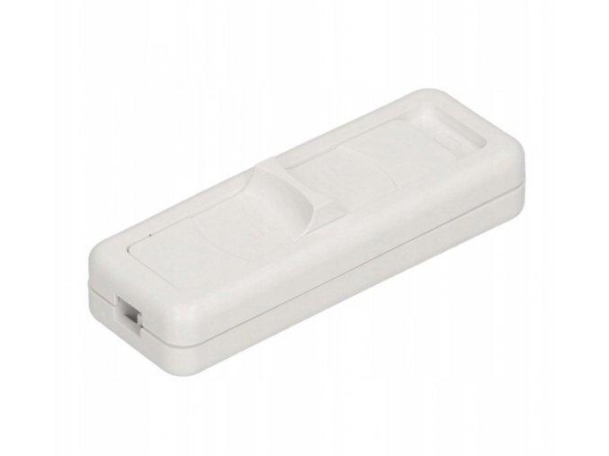 Samostatný vypínač posuvný 230V, 2.5A, bílý