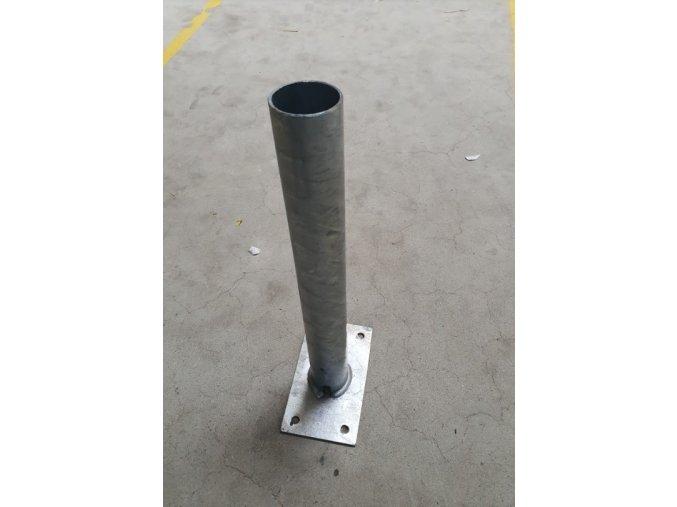 Výložník nástěnný 500mm, průměr 60mm, 5°, zinkovaný