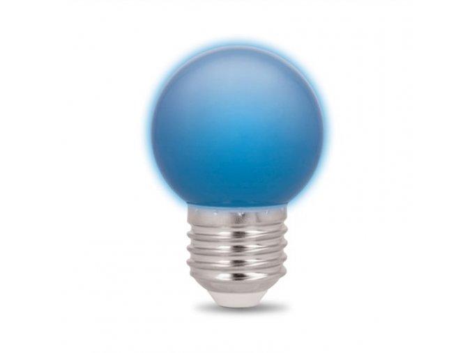 Forever Light sada 5ks LED žárovek E27, G45, 2W, modrá