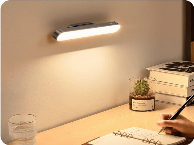 LED dobíjecí svítilna s dotykovým ovládáním 4.5W, 5V, 4000K, šedé