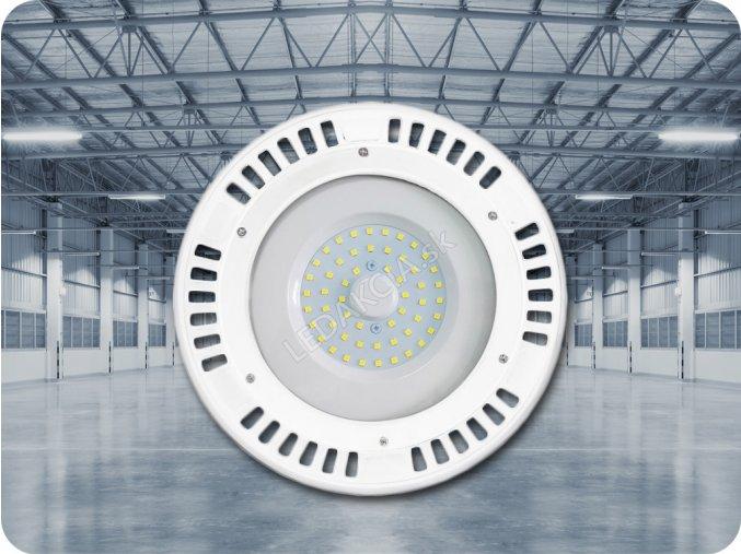 Průmyslový Led Reflektor High Bay 50W (4000Lm), Vysocesvítivé A ++, Bílý (Barva světla Studená bílá)