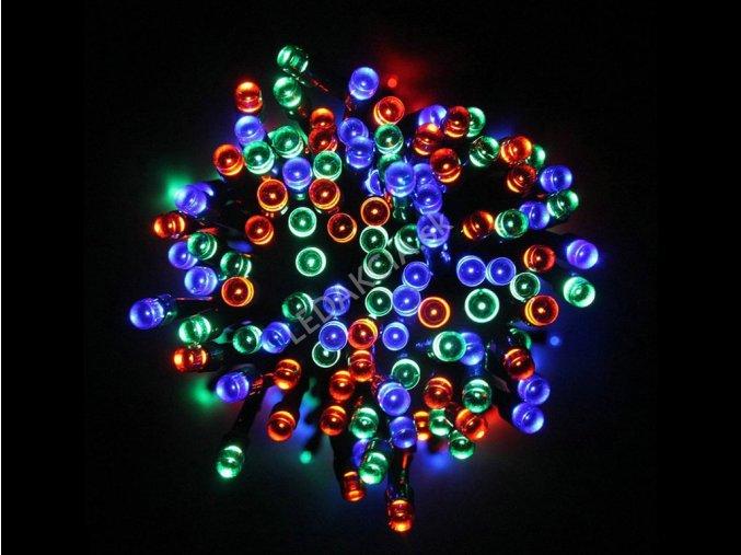 3864 2 vanocni led svetylka 100 rgb diod 230v