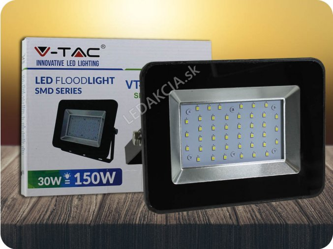 3903 2 led reflektor 30w i series 2550 lm cerny