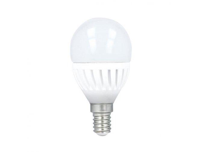 E14, G45 LED ŽÁROVKA 10W (900 lm) (Barva světla Studená bílá 6000K)