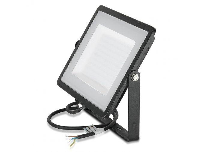 LED REFLEKTOR 300W, SAMSUNG CHIP, 24000LM, ČERNÝ, ZÁRUKA 5 LET! (Barva světla Studená bílá)