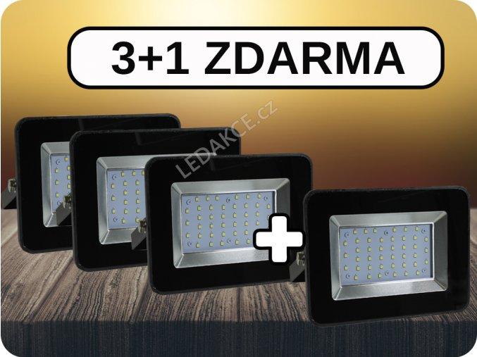 4317 2 3 1 reflektory i series 30w 2550 lm cerne