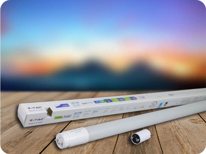 LED TRUBICE T8, 10W, 60 CM, G13, (850 LM), SAMSUNG CHIP- ZÁRUKA 5 LET! (Barva světla Studená bílá)
