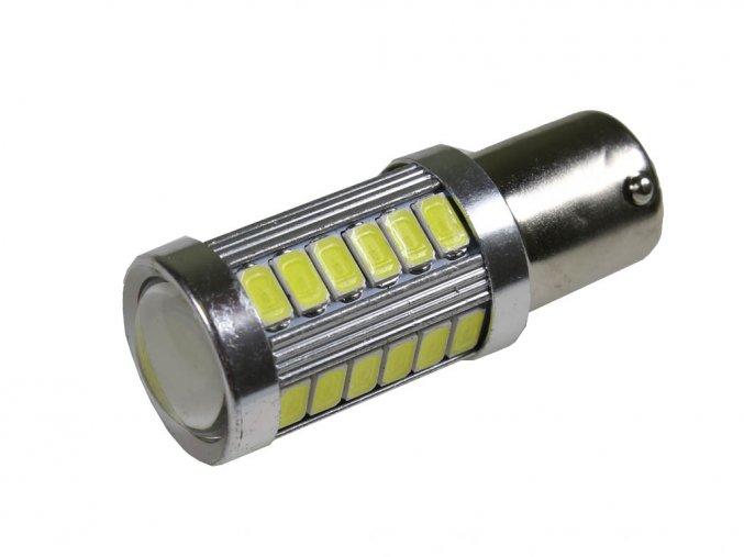 4488 led autozarovka p21w b15s 25w 6000k