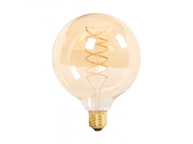 E 27 LED FILAMENT RETRO ŽÁROVKA 6W (480lm), G125 (Barva světla Teplá bílá)