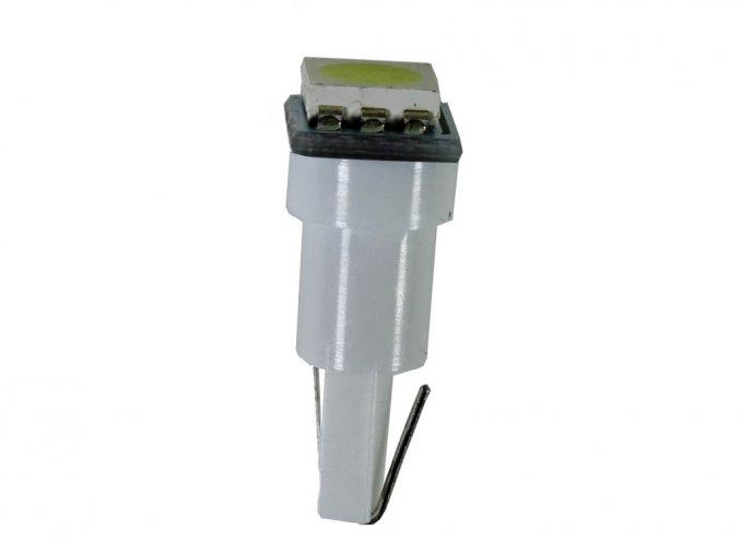 4890 led autozarovka t5 wg 12v 1smd 5050